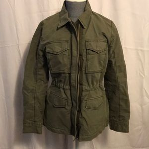 Abercrombie & Fitch Army Green Utility Coat